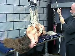 Tits face, Teen long hair, Teen bound, Teen bdsm, Table, Long hairs