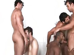 Room sex, Room gay, Lockers, Gay orgy, Locker room