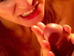 Using hand, Tits milf, Tits handjob, Tits blowjob, Redhead milf, Redhead handjob