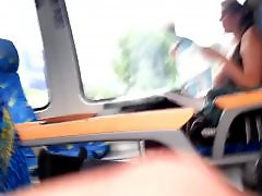 Voyeur train, Train flashing, Reading, M and girl, Ignore, In train