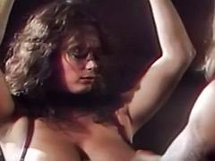 Tit spank, Lingerie spank, Latex threesome, Latex spank, Latex femdom, Spank tits