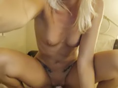 Webcam dildo blonde, Pussy slide, Sliding, Slide