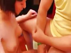 Cum on teen tits, Cute teen anal