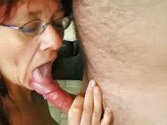 Redhead slut, Milfs german, Hot redhead milf, Hot milf fucked, Fucking glasses, Glasses milf