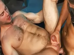 Frenche anal, French gay, French big cock, French anal, Duo blowjob, Gay french