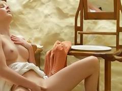 Solo nipple, Nipples masturbation, Nipple masturbation, Longhair