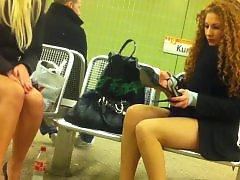 Voyeur upskirt, Upskirt pantyhose, Upskirt voyeur, Redhead stockings, Redhead pantyhose, Redhead amateur