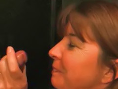 Mature gloryhole, Gloryhole facial, Gloryhole facials