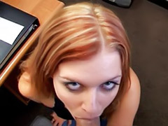 Quick sex, Quick blowjob, Quick cum, Quick, Pov oral, Sexe in office