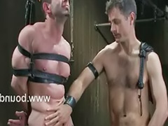 Scott, Metal bondage, Gay bounded, Metal, Logan
