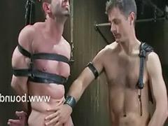 Scott, Metal bondage, Gay bounded, Metal, Logan