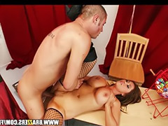 Stockings milf cum, Stocking fisting, Milf fist, Man cums, Kianna, Fisting milf