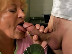 Granny oral, Granny blowjob