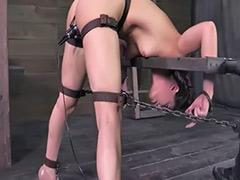 Metal bondage, Bondage, Bondag, Casey calvert, Calvert, Couple masturbation amateur