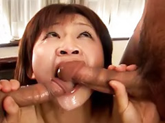 Japanese deepthroat, Japanese gagging, Double hairy, Asian double vaginal, Asian double blowjob, Asian gagging