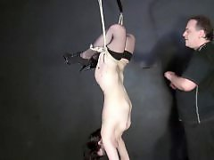Suspending, Suspended, Sex toy fuck, Bdsm toy, Dean