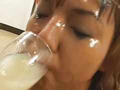 Swallow asian, Solo japanese girls, Solo japanese girl, Japanese swallow, Japanese girl solo, Bukkake swallow