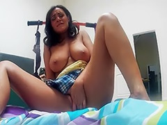Playing with tits, Solo playing with tits, Solo latin girl, Charley chase, Charley