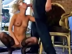 In bathroom, German blond, German big cock, Blonde german, Big german, German fuck