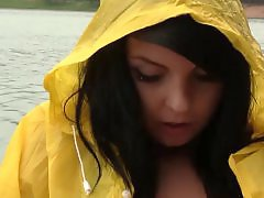 Teen public, Teen masturbating, Teen masturbates, Teen in public, Teen finger, Raincoat