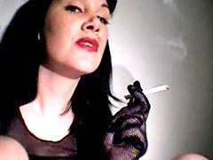 Black and solo, Smoking masturbation