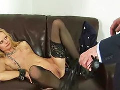 Spanking stockings, Spanking fetish, Lady stocking, Hard fetish, Blonde spanked, Bondage stockings