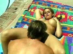 Pool, Screwing, Female, Femal, By the pool, Randi