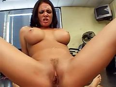 Tits nailed, Titfuck pov, Pov titfuck