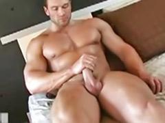 Big cock solo cum