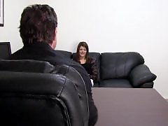 Casting, Anal creampie