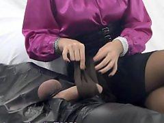 Handjob stockings, Teasing milf, Teasing handjobs, Teasing handjob, Teasing, Tease handjob