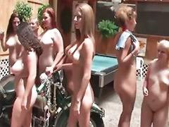 Redhead busty, Public lesbians, Public lesbian, Puts, Party, lesbian, Party lesbians