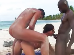 Sex beach, Beach threesome, Beach sex