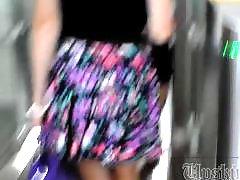 Slim, Skirts, Skirting, Skirt, Black blonde, Short skirt