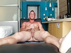 Solo male wanking, Derek, Wank male