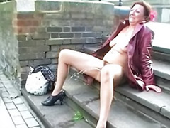 Milf outdoor, Milf amateur solo, Outdoor masturbation amateur, Bridge, Outdoor milf