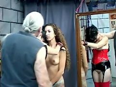 Turns, Tits ass, Tit spank, Teen, brunette, ass, Teen spanked, Teen long hair