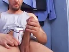 Toilet wank, Toilet solo, Wanking big cock, Masturbation solo big cock, Gay big cock cum, Big cock wanking