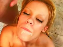 Big tits mouthful