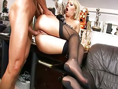 Masturbating in heels, Lick her ass, Anal sex in high heels