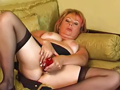 Shaved chubby solo, Shaved chubby, Solo stocking masturbation, Solo chubby, Milf stocking solo, Milf stockings solo
