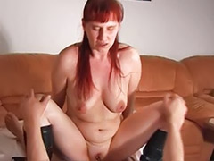 Wife sucks and, Wife sucking, Redhead wife, Lick wife, German wifes, German wife masturbation