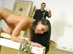 Tits bondage, Tit whipping, Tit spank, Tit bondage, Whipping, Whip tits