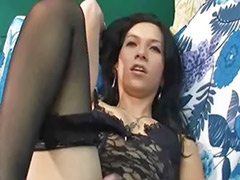 Stroking cock, Sabrina