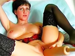 Solo milf dildo, Dildo and dick, Milf and girl, Enough