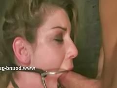 Threesome bondage