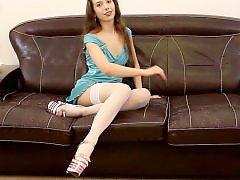 Teen stocking, Teen stockings, Teen spread, Teen leg, Stockings teen, Spreading legs