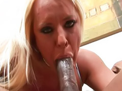 Shaving boyfriend, Black fuck blonde