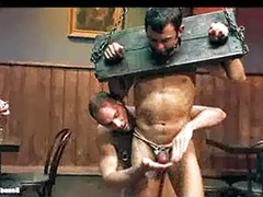 Bar sex, Public tied, Public bar sex, Sex bar, In bar, Gay gag