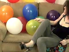 Teen heels, Balloons, Balloon, Popping, Heels, Pops